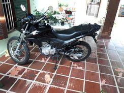 Moto Honda NXR Bros 160 2016 Único Dono Preta Oportunidade N
